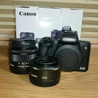 Canon - Canon EOS KissM ダブルレンズキット