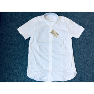MUJI (無印良品) - 無印良品 半袖ブロード綿シャツ L