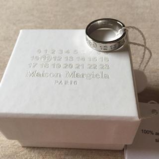 Maison Martin Margiela - 19SS新品S マルジェラ ナンバリング ロゴ リング 指輪