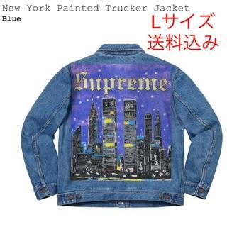 Supreme - supreme New York painted trucker jacket