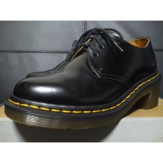 ドクターマーチン(Dr.Martens)の【激レア】Dr.Martens AMORY UK4 黒 厚底 3ホール ヒール (ローファー/革靴)