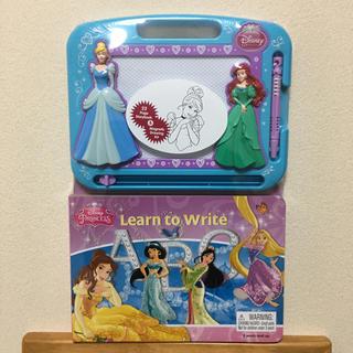 Disney - ディズニー プリンセス お絵描きボード & 英語 知育本