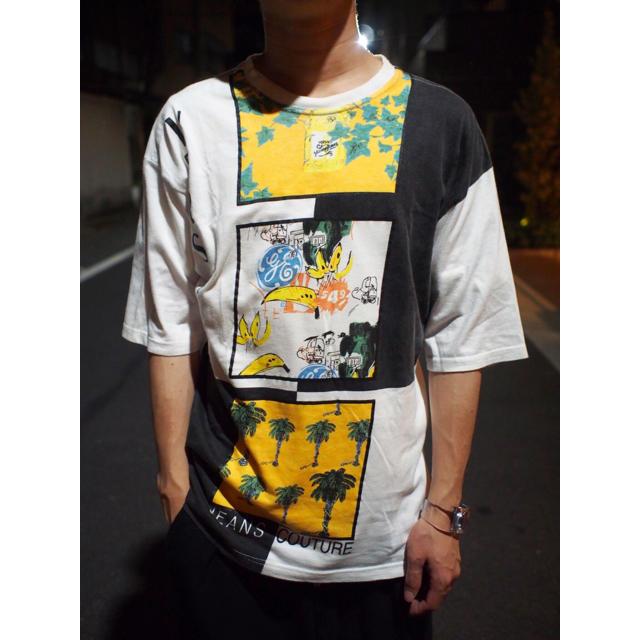 VERSACE(ヴェルサーチ)の【VERSACE】Art print-logo design TEE メンズのトップス(Tシャツ/カットソー(半袖/袖なし))の商品写真