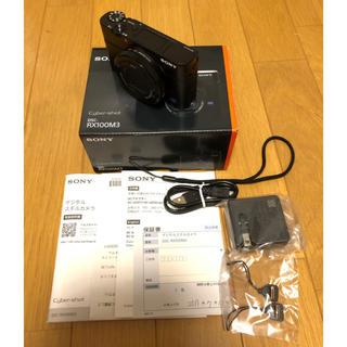 SONY - 【新品同様】SONY Cyber-shot DSC-RX100M3