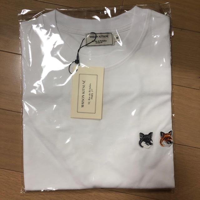 MAISON KITSUNE'(メゾンキツネ)の新品未使用 メゾンキツネ Tシャツ M メンズのトップス(Tシャツ/カットソー(半袖/袖なし))の商品写真