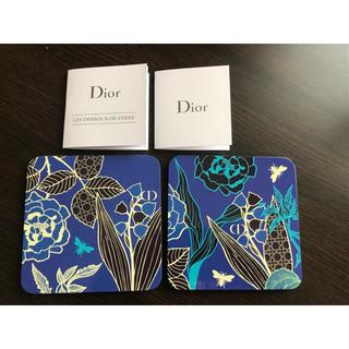 Dior - ディオール コースター 二枚