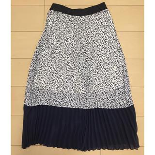 しまむら - レオパード柄ロングスカート ロングスカート プリーツロングスカート