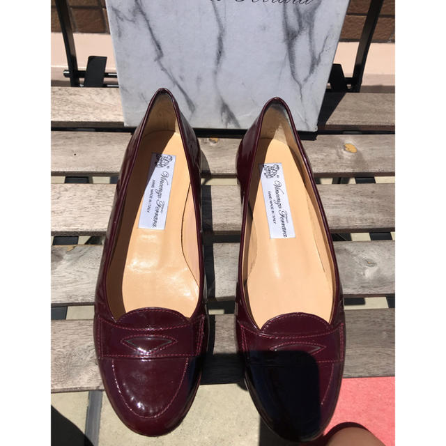▫️vincento レザーローファー レディースの靴/シューズ(ローファー/革靴)の商品写真