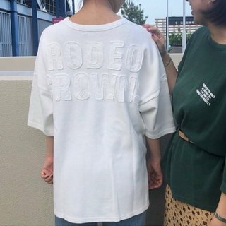 RODEO CROWNS WIDE BOWL - RODEO CROWNS  ピグメント ビッグ ワッフル Tシャツ