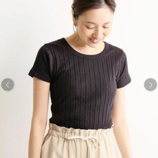 IENA SLOBE - ワイドトタンテレコバックスリットTシャツ スローブイエナ IENA