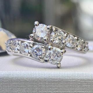 ダイヤモンドリング 1カラット 美品 プラチナ