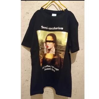 買うなら今!♥️インパクトあり!モナリザキャンディTシャツ② 黒 ブラック(Tシャツ/カットソー(半袖/袖なし))