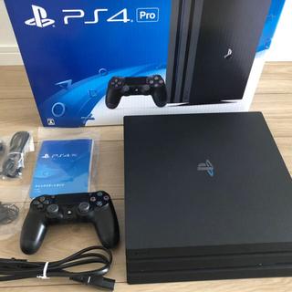PlayStation4 - PlayStation®4 Pro ジェット・ブラック 1TB