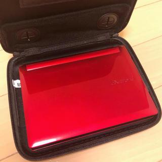 カシオ(CASIO)のCASIO EX-word XD-B6500 電子辞書 RED(電子ブックリーダー)