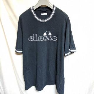 エレッセ(ellesse)のellesseエレッセ刺繍ロゴTシャツ(Tシャツ/カットソー(半袖/袖なし))