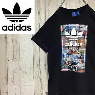 adidas - 【アディダスオリジナルス】【ビッグロゴ】【スニーカー柄】【Tシャツ】
