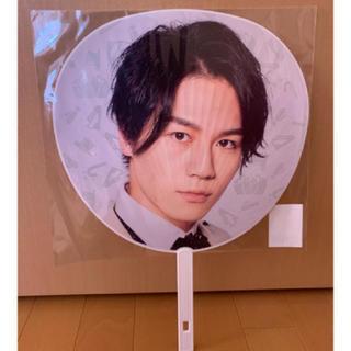 ジャニーズジュニア(ジャニーズJr.)の松田元太 うちわ(アイドルグッズ)