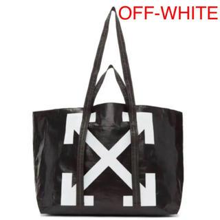 オフホワイト(OFF-WHITE)のOFF-WHITE ARROWS TOTE BAG BK(トートバッグ)