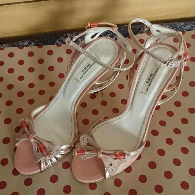 VII XII XXX(セヴントゥエルヴサーティ)のVII XII XXX セブントゥエルブサーティ バタフライストラップ サンダル レディースの靴/シューズ(サンダル)の商品写真