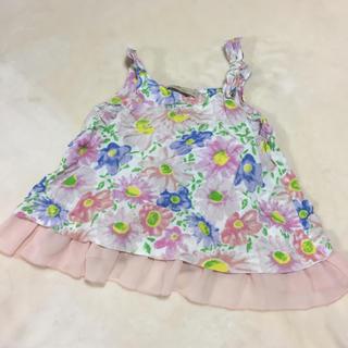 グローバルワーク(GLOBAL WORK)の子供服 花柄キャミソール(その他)