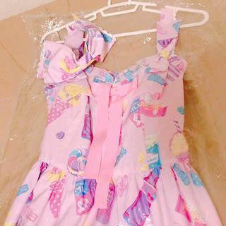 Angelic Pretty - AngelicPretty FancyCandy 東京店限定 ピンク
