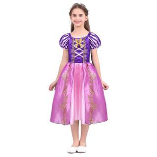 Disney - ラプンツェル ドレス プリンセスドレス サテン