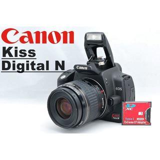 Canon - 届いてすぐ使える♪ CFカードアダプター&SDカード付♪