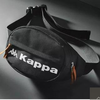 Kappa - 雑誌付録♥️Kappa ビッグロゴ 2WAYウエストバッグ