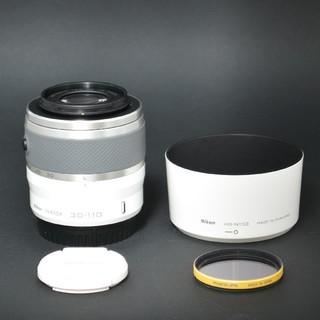 Nikon - ☆ニコン☆Nikon1 NIKKOR 30-110㎜ VR【ホワイト】
