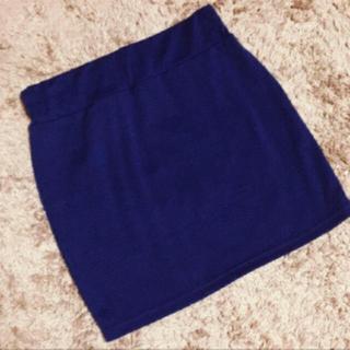 GRL - GRL*ミニスカート*ネイビー