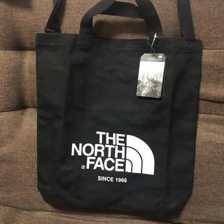 THE NORTH FACE - 新品未使用ノースフェイス 2wayキャンバストートバッグ ブラック
