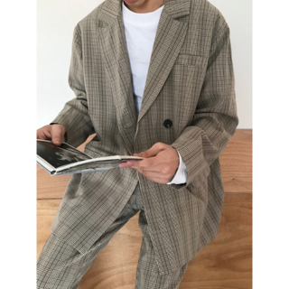 セットアップ シルエット 紳士スーツ 韓国