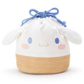 サンリオ - シナモロール 巾着カゴ風バッグ
