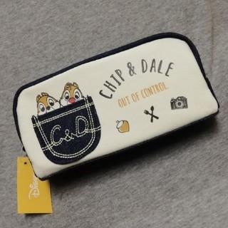 チップアンドデール(チップ&デール)のチップ&デール デニムペンケース 新品未使用(ペンケース/筆箱)
