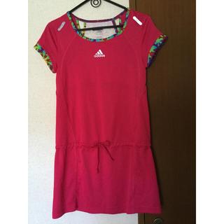 アディダス(adidas)のスポーツ ワンピース アディダス ランニング テニス Lサイズ(ウェア)