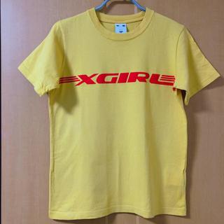 エックスガール(X-girl)のX-girl 90's風イエローTEE(Tシャツ(半袖/袖なし))