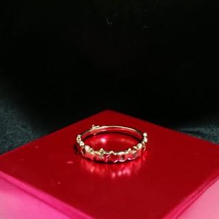 ツモリチサト(TSUMORI CHISATO)のツモリチサトK10星のリング9号YG(リング(指輪))