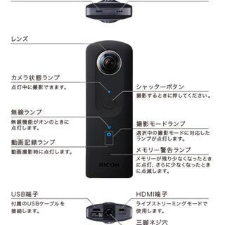 RICOH - RICOH THETA S リコー シータ S 360度カメラ