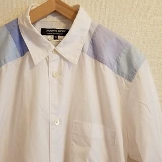 コムデギャルソン(COMME des GARCONS)のCOMME des GARCONS HOMME DEUS ヨーク切り替えシャツ(シャツ)