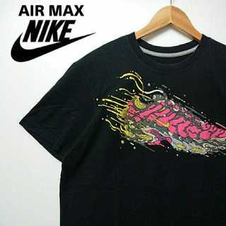 ナイキ(NIKE)の498 レア ナイキ エアーマックス デカロゴ Tシャツ NIKE(Tシャツ/カットソー(半袖/袖なし))