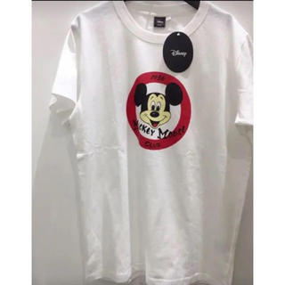ディズニー(Disney)の新品 M ミッキー クラシカル tシャツ レトロ 男女兼用 ヴィンテージ メンズ(Tシャツ/カットソー(半袖/袖なし))