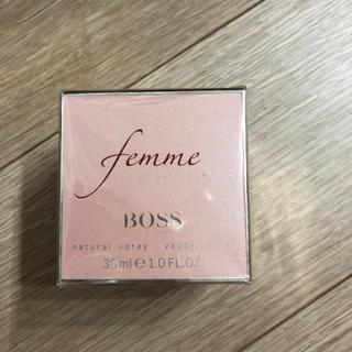ヒューゴボス(HUGO BOSS)の日本未発売 HUGO BOSS FEMME ヒューゴ ボス ファム EDP (香水(女性用))