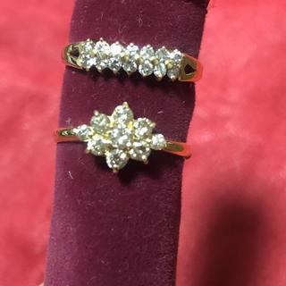 18金 指輪 ダイアモンド
