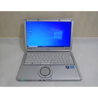 Panasonic - SSD&メモリ8G レッツノート CF-NX2 Core i5 Win10 無線