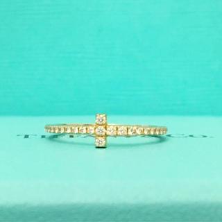 Tiffany & Co. - 美品 ティファニー Tワイヤー リング