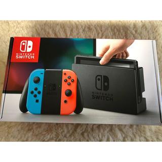 Nintendo Switch - 任天堂スイッチ 本体 新品 ネオンブルー Nintendo Switch
