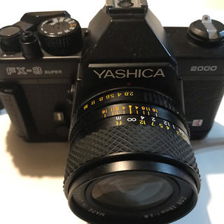 京セラ - YASHICA FX-3 SUPER 2000 + 28mm f2.8 整備品