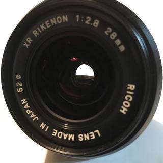 PENTAX - RIKENON 28mm F2.8 PKマウント 単焦点レンズ