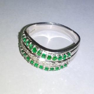 ダイヤモンド  エメラルド  リング(リング(指輪))