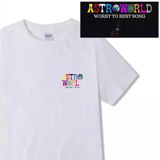 【新品】Travis Sccot/トラヴィススコットAstroWorldTシャツ(Tシャツ/カットソー(半袖/袖なし))